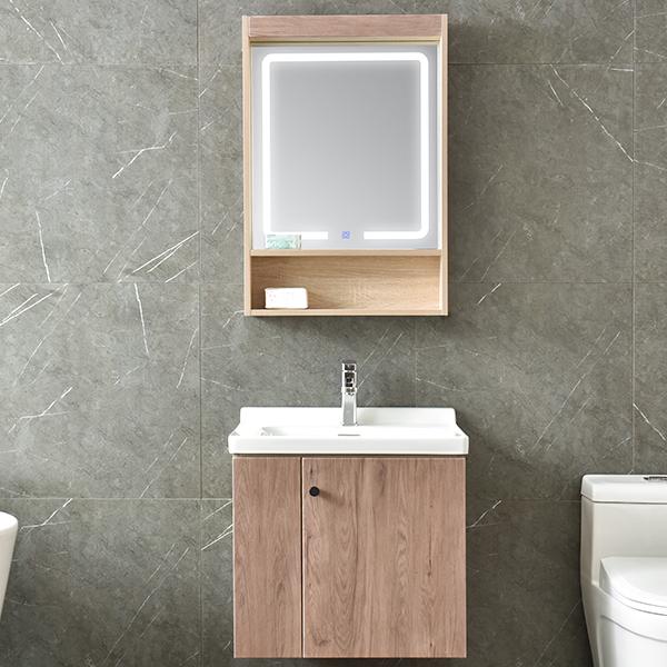 免漆实木浴室柜,洗面台,洗漱盆AM6048