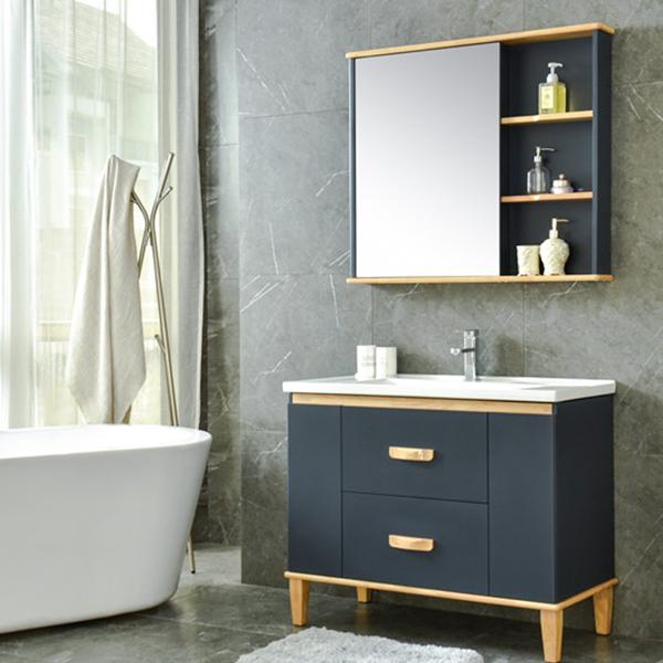 pvc现代浴室柜,洗面台,洗漱盆AM2501-1