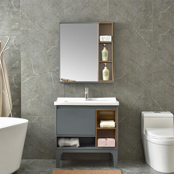 pvc现代浴室柜,洗面台,洗漱盆AM2504-1