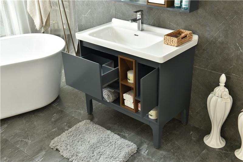 浴室柜的清洁和损伤修复方法